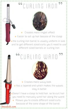 Hair Wand vs Curling Iron: Which One Is The Right For You?