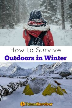 How to Survive Outdoors in Winter: 10 Tips for Bugging Out in Cold Weather. The secret to winter survival isn't just about gear. Pack all the stuff you want in your Bug Out Bag and it won't help if you don't know how and when to use it. Here are some winter survival tips for bugging out in the wilderness.