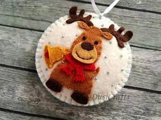 Felt Christmas ornaments Non breakable Felt Christmas