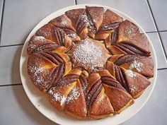 Chefkoch.de Rezept: Stern-Nutellabrot