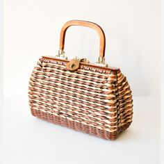 50s Basket Purse. Love it...especially since it channels Sofia from Golden Girls.