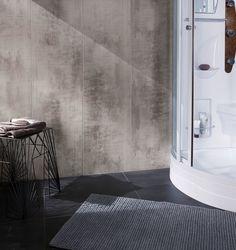 Lambris PVC, MDF : 20 modèles - Côté Maison Panel, Bathtub, Inspiration, Evolution, Home, Design, Bathrooms, Palette, Houses