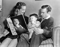 Betsy Blair  Gene Kelly with daughter Kerry, 1944                                                                                                                                                                                 More
