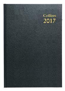 2017 Black Desk Diary