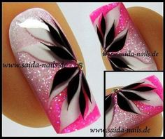 No photo description available. Fabulous Nails, Gorgeous Nails, Pretty Nails, Beautiful Nail Designs, Beautiful Nail Art, Fancy Nails, Pink Nails, Nagellack Design, Toe Nail Designs