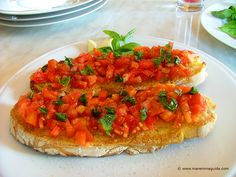 Maremma Food, Olive Oil and Recipes from Tuscany & Lazio Tuscan Recipes, Italian Recipes, World Recipes, Wine Recipes, Tuscany Food, Bruschetta, Pasta, Recipes From Heaven, Cooking School