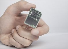 "Intel announces Edison, a computer the size of an SD card - dual core, runs linux, wifi and bluetooth - Think ""wearable"""