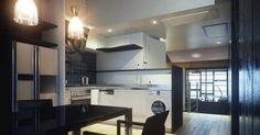 Trendy kitchen - cool photo