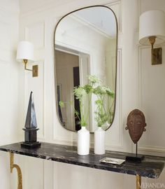 Manhattan townhouse designed by Timothy Whealon.