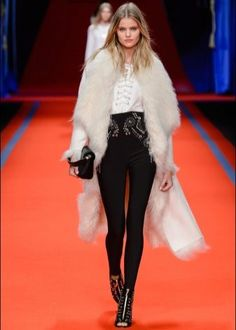 Take a look to Elisabetta Franchi Collections Fall Winter the fashion  accessories and outfits seen on Milano runaways. c9b547edd9d