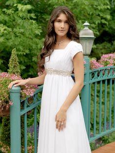Casual wedding dress from Arizona Bridal