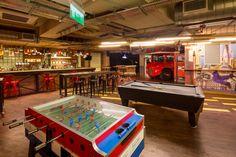 Generator Hostels  #hostel #London #Holiday #Traveling #design #bar #chillout