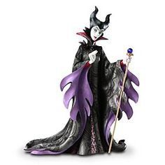 Maleficent Couture de Force Figurine by Enesco | Disney Store Disney Couture de Force is a fully-sculptured designer figure collection re-imagining our reigning princesses and vampy villains in haute couture. Exacting detail, faux jewels and opalescent paints bring each sculpture to life.
