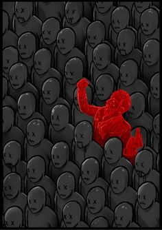 nonconformity is not a form of madness Arte Latina, World Of Darkness, Political Art, Arte Horror, Psychedelic Art, Cool Posters, Wallpaper, Vector Art, Artsy