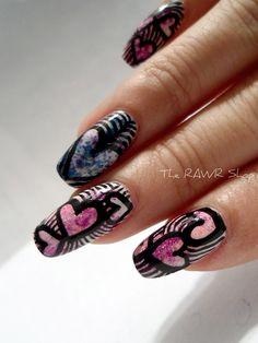 msn valentines nails