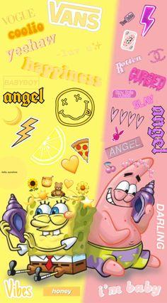 Spongebob Iphone Wallpaper, Butterfly Wallpaper Iphone, Emoji Wallpaper, Wallpaper Iphone Disney, Iphone Background Wallpaper, Cute Disney Wallpaper, Cute Cartoon Wallpapers, Pretty Wallpapers, Funny Wallpapers For Iphone