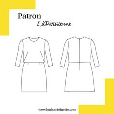 DIY Dress designed in France, we make sewing easy, fun and modern. Buy patterns to sew your own dress, skirt, top… Diy Vetement, Make Your Own Clothes, Diy And Crafts Sewing, Couture Sewing, Dress Images, Love Sewing, Diy Dress, Dressmaking, Diy Fashion