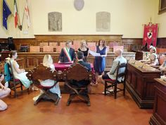 Legally binding wedding in Arezzo, interpreter translated the ceremony into English