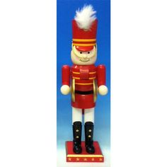 Have to have it. Horizons East Toy Soldier Cymbalist Nutcracker - $29.99 @hayneedle.com