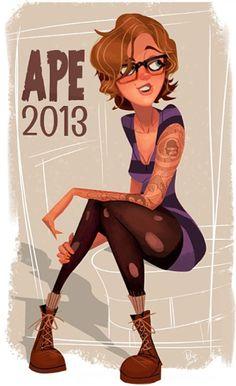 girl ape 2013