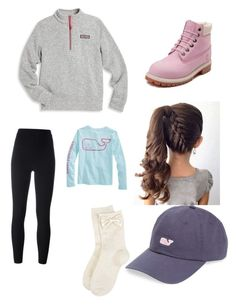 """I will be starting doing kid clothes. I just bought this whole outfit for my 12 year old daughter to bad ther is dress code but not on dress down days"" by nchawla-1 on Polyvore featuring Vineyard Vines, Timberland, adidas Originals and Monsoon"