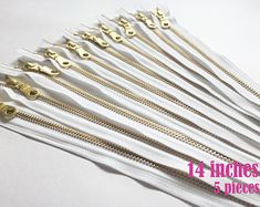 10 inch 5 pieces DAN10 antique brass zipper zipper for bag donut pull zipper metal zippers pouch zippers ykk zips antique zippers