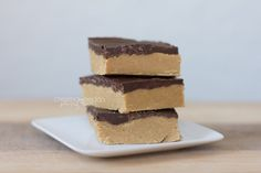 Dandelions on the Wall: No-Bake Peanut Butter Cup Bars {gluten and soy free, and vegan}