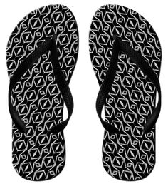 Ethnic And Tribal Motifs Zigzag Lines Brush Strokes Custom Fashion Style Perfectly Neutral Slip Design Beach Flip-Flops >>> Click image for more details. #womenshoe