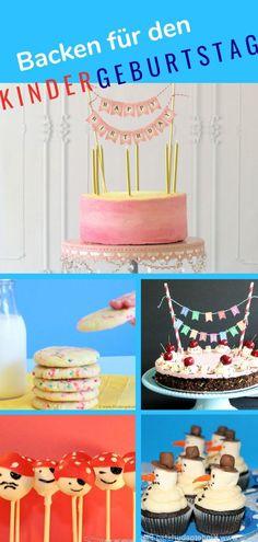 Kuchen backen für den Kindergeburtstag - Ideen für den Geburtstagskuchen auf Kindergeburtstag-Planen.de Birthday Cake, Party, Desserts, Food, Children, Princess Pie, Birthday Cake Toppers, Tailgate Desserts, Young Children