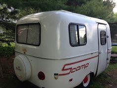 My Scamp Fiberglass Egg Camper: Shine bright like a diamond