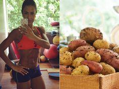 A batata-doce é ótima para quem deseja ter energia para fazer exercícios e não passar fome. Saudável, nutritiva e saborosa, seca até 1,5 kg por semana. Isso porque tem dois diferenciais em