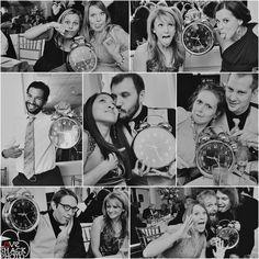 New Year's Eve wedding photos