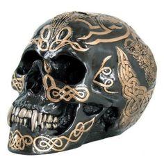 "Tribal Celtic Skull Statue 7.5""L Figurine Pacific Trading http://www.amazon.com/dp/B009CCZ91M/ref=cm_sw_r_pi_dp_rl75vb18CR5QD"