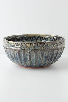 Deliquesce Serving Bowl #anthropologie
