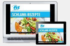 """Die 50 besten Abnehm-Rezepte findet ihr in unserem eBook """"Schlank-Rezepte""""..."""
