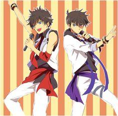 Kaito and Shinichi crossover Utapri