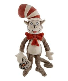 Dr. Seuss Cat in the Hat  Fish Plush Toy | zulily