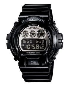 G-Shock Men s Mirror Metallic Black Resin Strap Watch DW6900NB-1 Jewelry    Watches - Watches - Macy s. online shopping for Casio ... bcae17f6639e