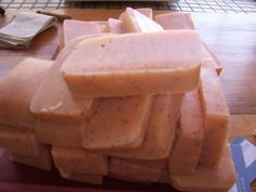 Home Made all Natural Body Soap