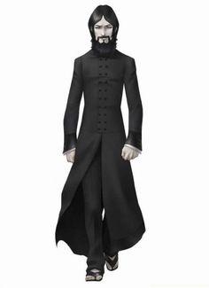 rasputin concept | Shin Megami Tensei: Devil Summoner - Raidou Kuzunoha vs. the Soulless ...