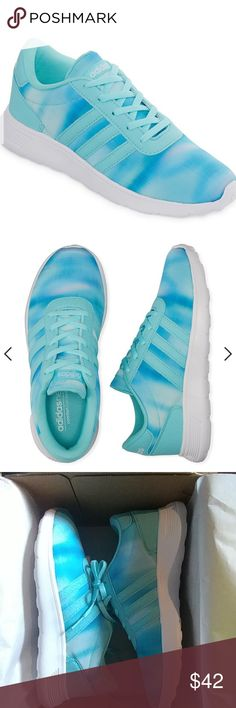 adidas Lite Racer K Girls Running Shoes big kids Sole Outer Surf Area: 100% Rubber These I actually wanted for myself but are about 1/2 a size too big! I normally wear a size 7 in women's adidas Shoes