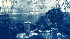 Image result for cyanotype prints drawn
