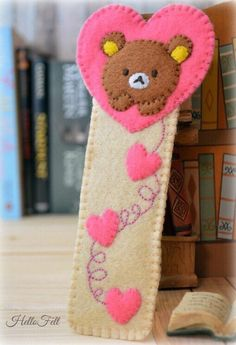 Sewing Patterns Free Felt Rilakkuma Bookmark, Marcapaginas FREE Sewing Pattern - From toys and brooches to tech cases and even home decor, these FREE felt sewing patterns are great projects to bust your felt stash in a flash. On Craftsy! Felt Crafts Patterns, Sewing Patterns Free, Free Sewing, Felt Patterns Free, Easy Felt Crafts, Felt Diy, Rilakkuma, Craft Projects, Sewing Projects