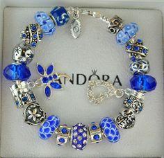 >>>Pandora Jewelry OFF! >>>Visit>> Authentic Pandora Sterling Silver Charm Bracelet Blue Crystal Faceted Heart New Pandora Beads, Pandora Bracelet Charms, Sterling Silver Charm Bracelet, Pandora Jewelry, Silver Charms, Pandora Rings, Charm Bracelets, Do It Yourself Jewelry, Bracelet Designs