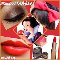 Snow White makeup palette