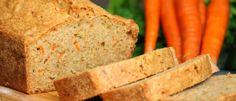 carrot zucchini bread loaf