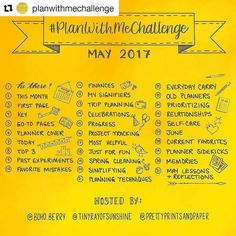 #Repost @planwithmechallenge with @repostapp  Who's ready for the May #PlanWithMeChallenge?!? - Hosted by Kim @tinyrayofsunshine Jessica @prettyprintsandpaper and Kara @boho.berry the #PlanWithMeChallenge is a way for us to share the HOW and WHY of our planning systems each month.-ALL planner types are welcome to join in the fun!-HERE'S HOW TO PARTICIPATE:-1. Repost this graphic on social media along with the #PlanWithMeChallenge hashtag to spread the word.2. Write out the prompts or…