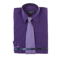 Dress Shirt and Tie Set (2T-4T)