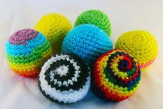Off-the-Hook Crochet: Hacky Sacks