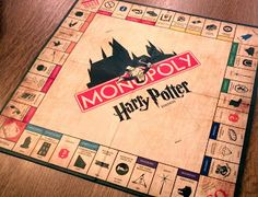 You know how everyone talks about how much they want a Harry Potter Monopoly board? Well this guy actually made one and best of all it's free for you to download and with a bit of work use it yourself!!!!!!!